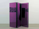 Folding Screen (Purple), 2007